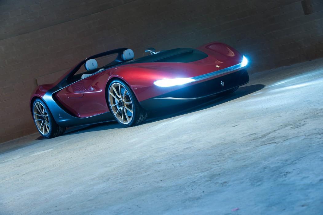 Pininfarina Unveils Ferrari Based Sergio Concept Video Autoevolution