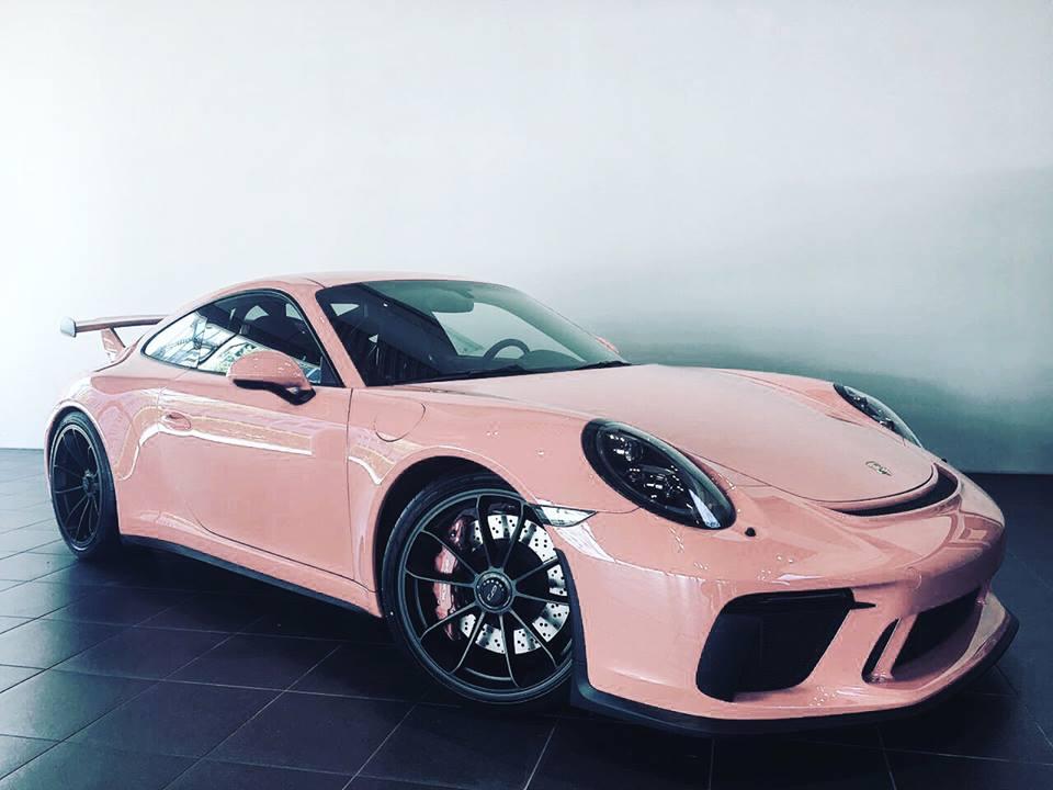 Pink Pig 2018 Porsche 911 Gt3 Is A Tribute To Legendary 917 20
