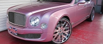 Pink Bentley Mulsanne Gets Forgiato 24s from Office-K [Photo Gallery]