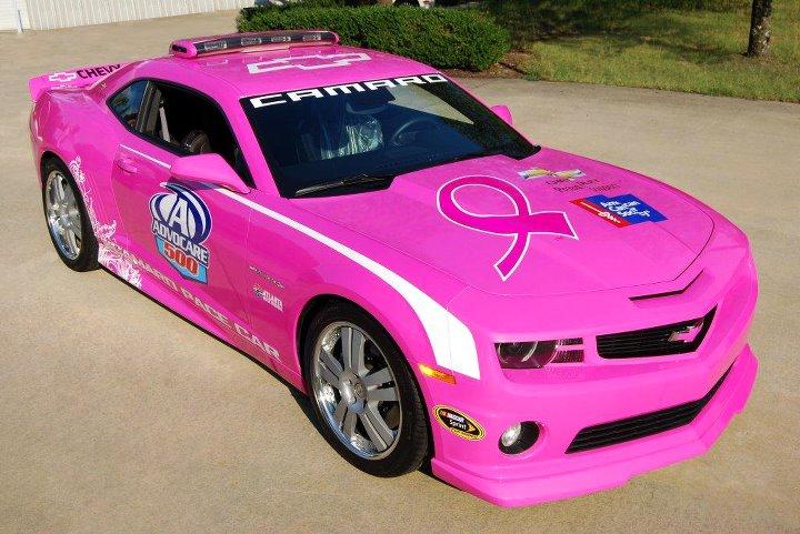 Richmond Auto Auction >> Pink Chevrolet Camaro Becomes NASCAR Pace Car - autoevolution