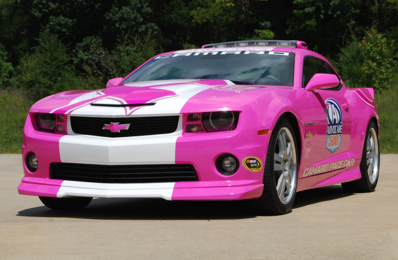 Pink Chevy Camaro Fights Cancer - autoevolution