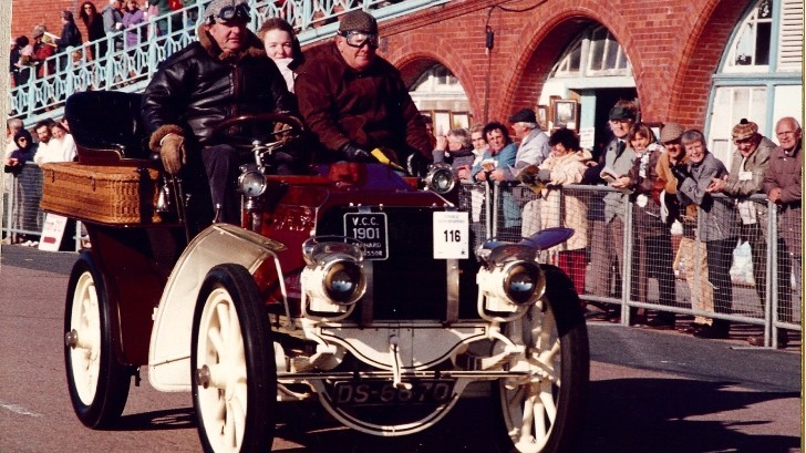 Pink Floyd's Nick Mason to Race in the London to Brighton Veteran Car Run