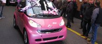 Pink Passion smart fortwo Finds a Purpose in Life
