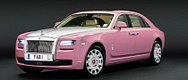 Pink Rolls-Royce for Charity [Photo Gallery]