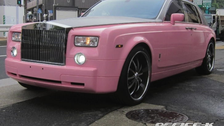 Pink Rolls Royce Phantom by Office K [Photo Gallery]