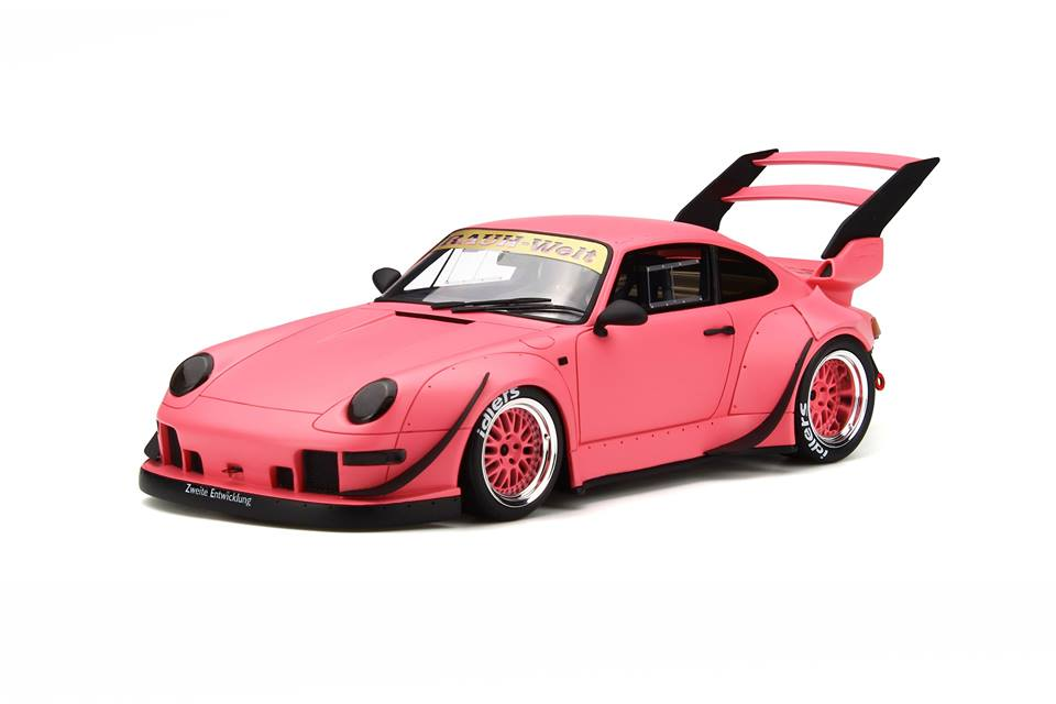 Pink Rwb Porsche 911 118 Scale Model Is Ready To Offend
