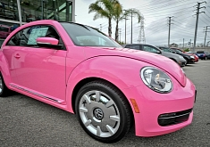 Pink Volkswagen Beetle: What Every Girl Wants [Video] [Photo Gallery]
