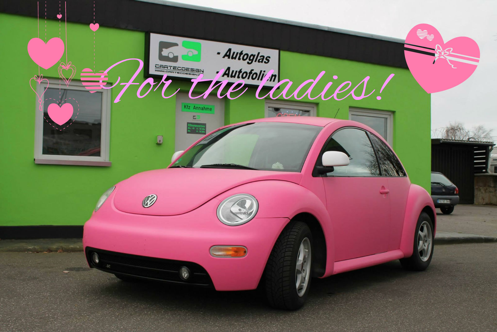 Pink VW Beetle: a Joyful Cliche - autoevolution