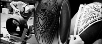 Pirelli and Scott Campbell Release Tire Tattoo Art [Video]