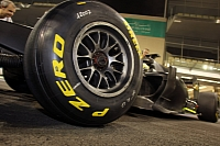 Pirelli wet tires in Abu Dhabi