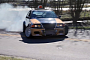 Pizza Delivery Using a Pumped Up BMW E46! [Video]