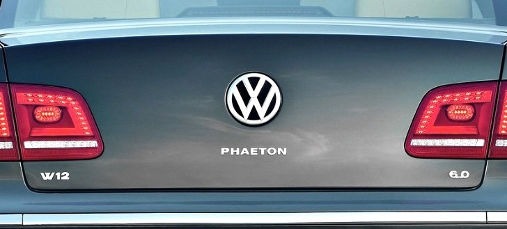 Plans for New Volkswagen Phaeton Confirmed in Sao Paulo