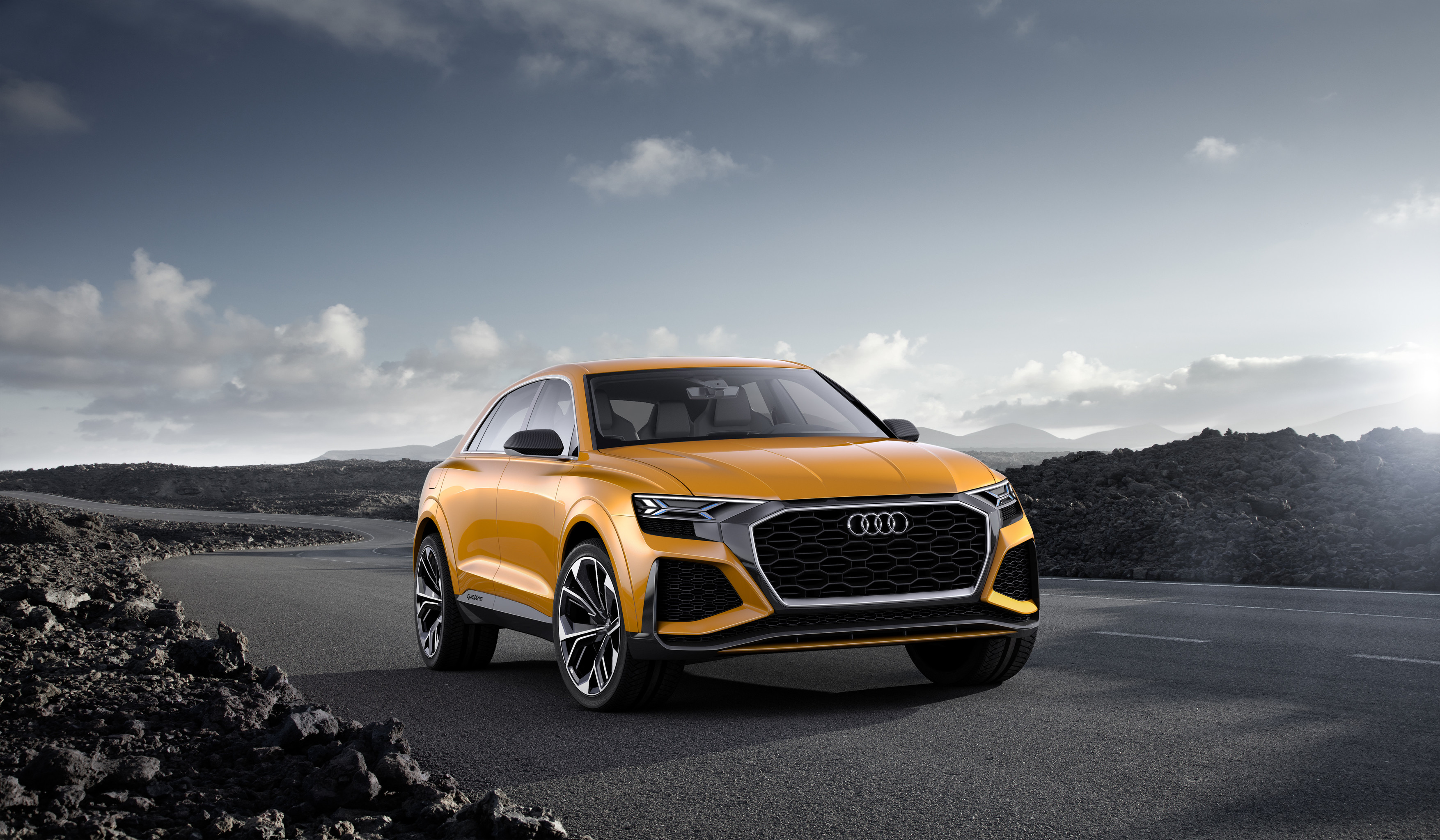Two new Audis to join the Q: Audi Q8 and Audi Q4