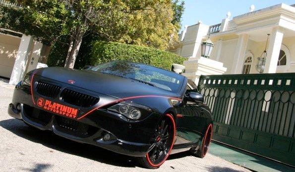 Platinum motorsport bmw 650i convertible is a black beauty platinum motorsport bmw 650i publicscrutiny Images