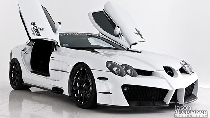 Platinum motorsport slr777 world 39 s fastest mercedes benz for What is the fastest mercedes benz car