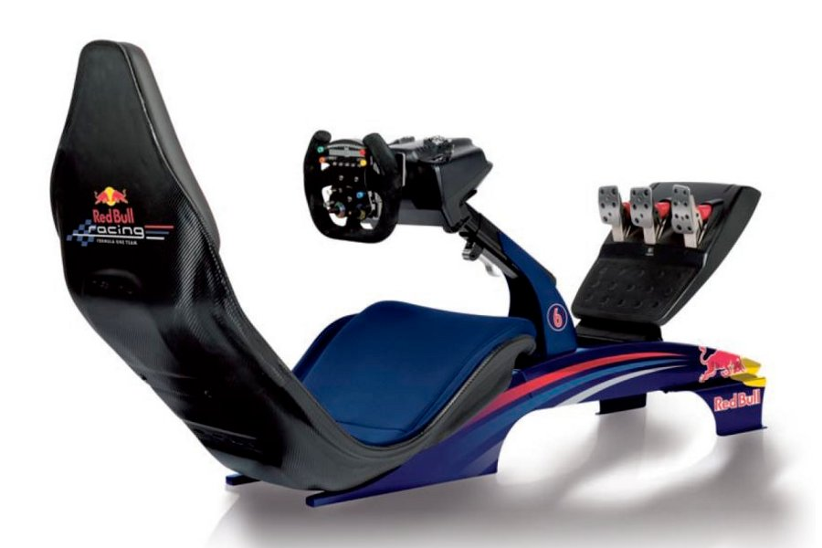 Playseat F1 Red Bull Racing Game Simulator Unveiled