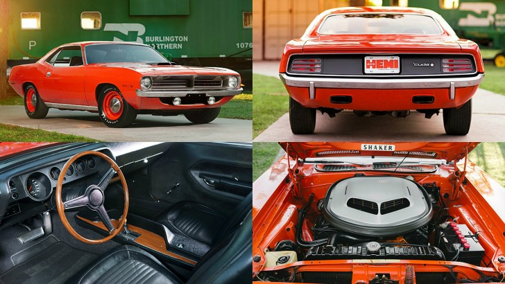Plymouth HEMI Cuda with 81 Original Miles is the Barracuda to Own – Photo Gallery