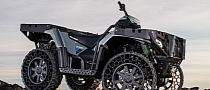 Polaris Debuts Sportsman WV850 H.O. with Terrain Armor Non-Pneumatic Tires [Photo Gallery]