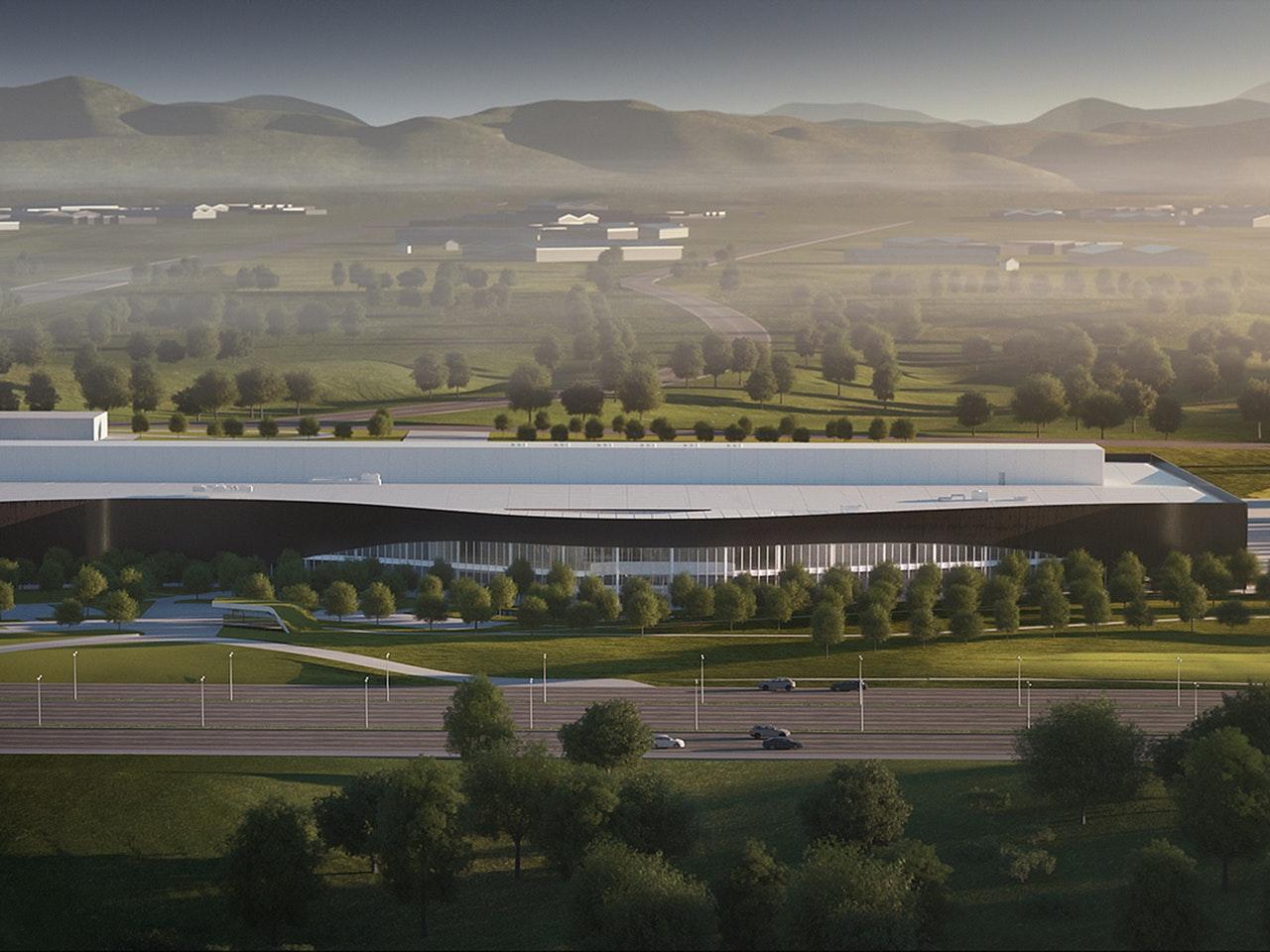 Volvo starts construction of its Polestar production centre