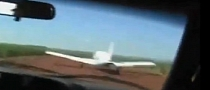 Police Car Hits Smuglers' Airplane During Pursuit [Video]