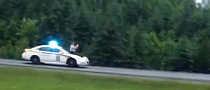Police Car Surfing by... Police Officer [Video]