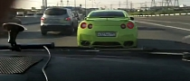 Police Chases Lime Green Nissan GT-R in Russia [Video]