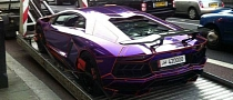 Police Impounds Nasser Al Thani's Lamborghini Aventador in London [Updated]