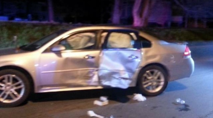 Police Patrol T Bones Chevy Impala In Iowa Autoevolution
