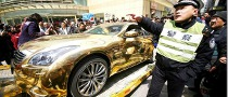 Police Seize Chinese Gold Car for Being... For Being.