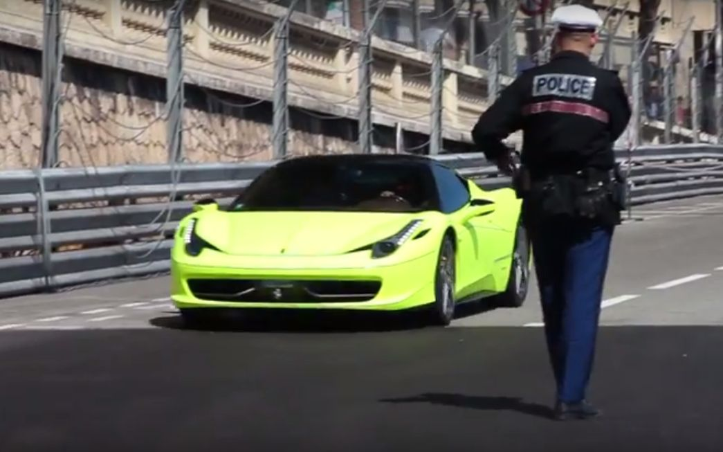 Salina Used Cars >> Police Stopping Supercars in Monaco Is When Hooning Meets ...