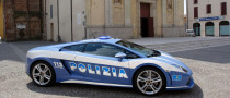 Polizia Stradale Lamborghini Racing at Monza [Video]