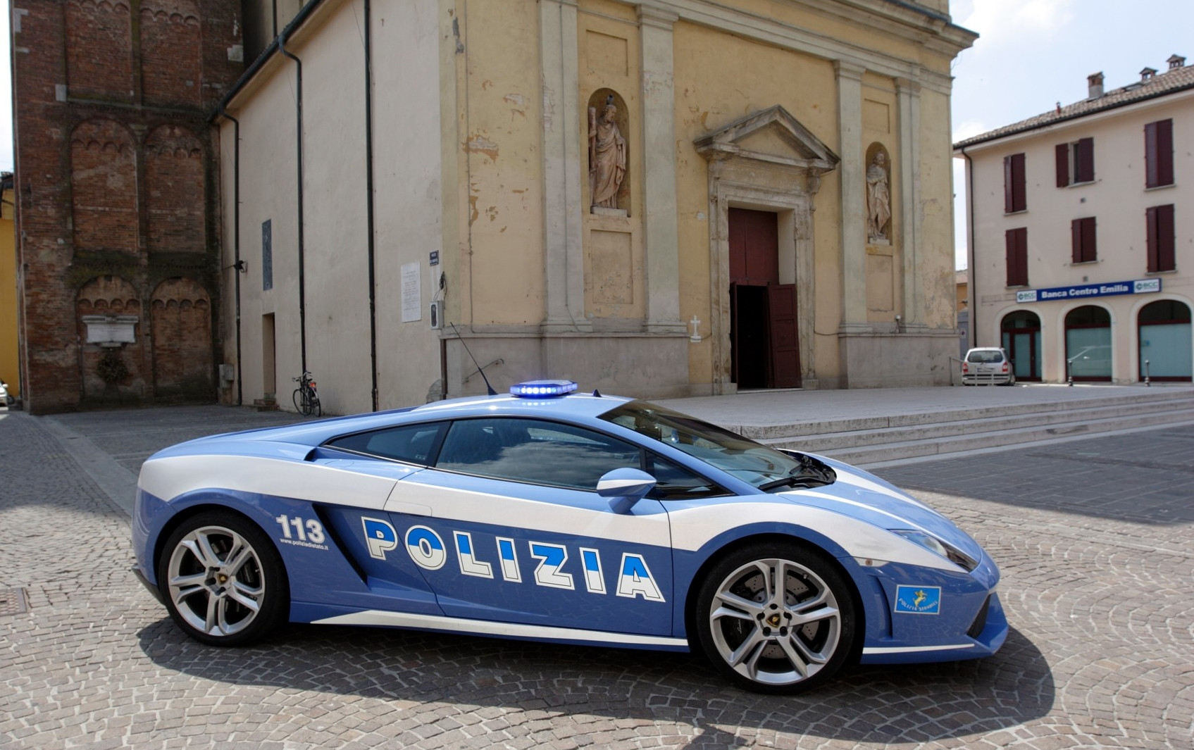 Polizia Stradale Lamborghini Racing At Monza Autoevolution