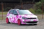 Polo GTI Gets Interesting Pink Camo Wrap