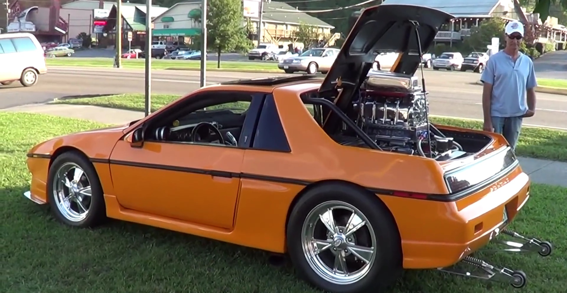 Pontiac Fiero With A Supercharged V8 Is Seriously Cool