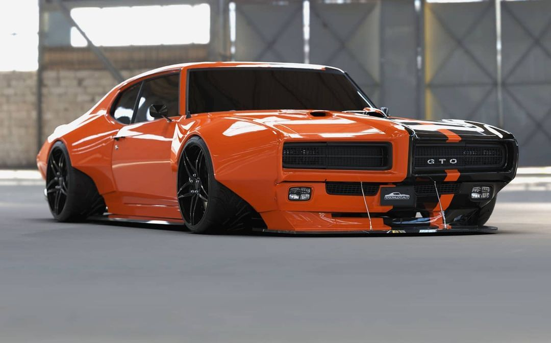 Review Flexes Widebody Muscle Pontiac GTO Two-Face