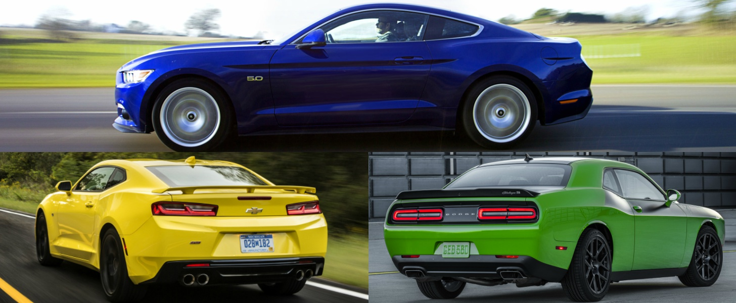 2016 U.S. Pony Car Sales: Mustang Takes Top Spot, But Market Is ...
