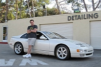 Peter North and the 300ZX