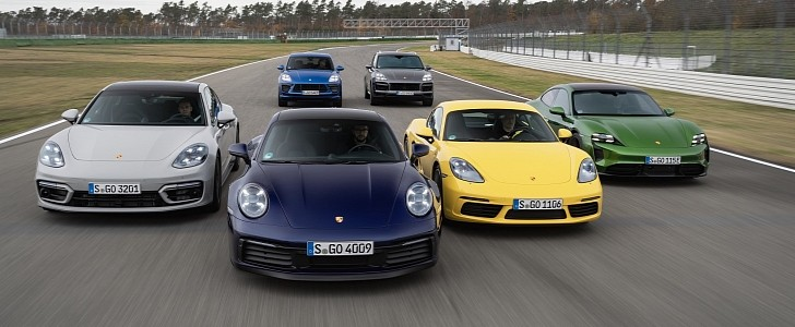 photo of Porsche 2020 Sales Figures Show the Company is 7.3 Percent Electrified image