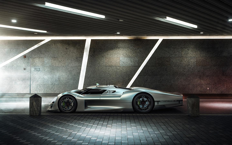 Porsche 908 04 vision gran turismo is a 918 spyder mission e longtail mashup autoevolution