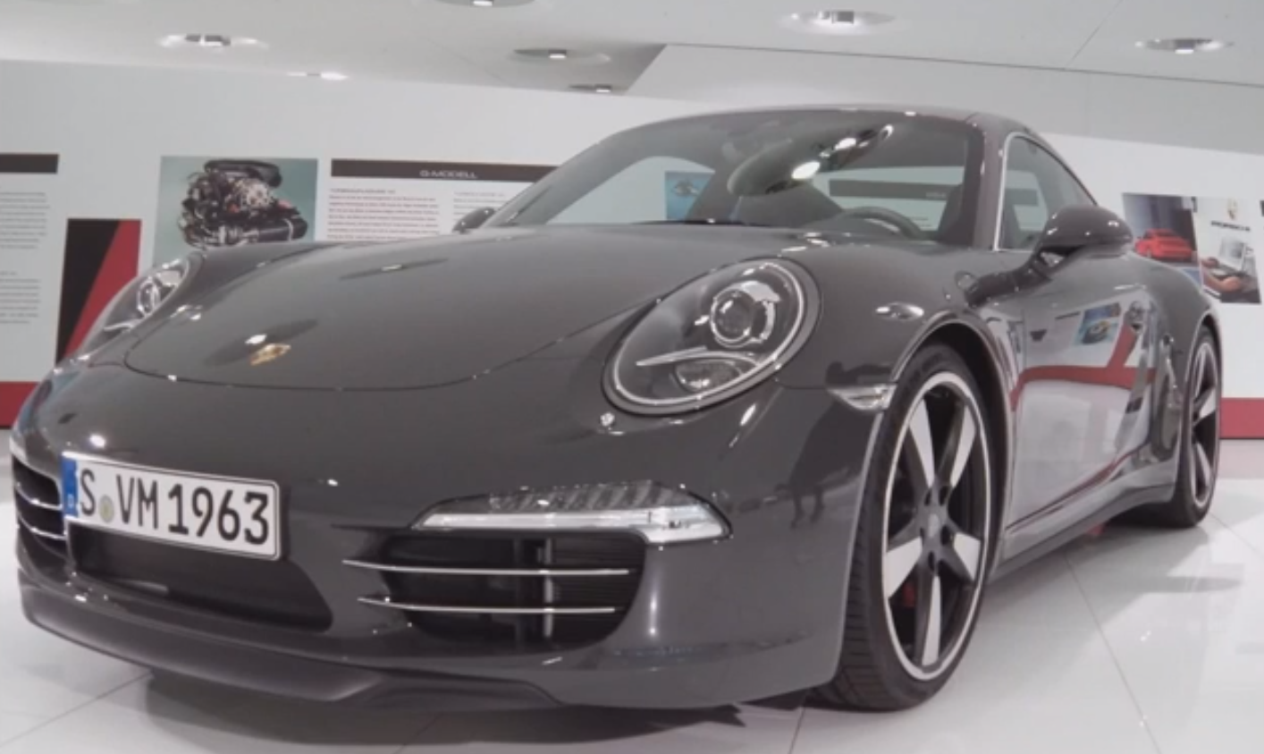 porsche 911 50th anniversary edition walkaround autoevolution. Black Bedroom Furniture Sets. Home Design Ideas