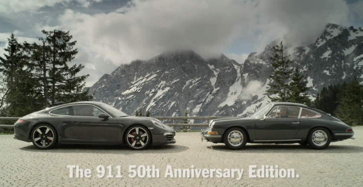 Porsche 911 50th Anniversary Gets US Price, First Video [Video]