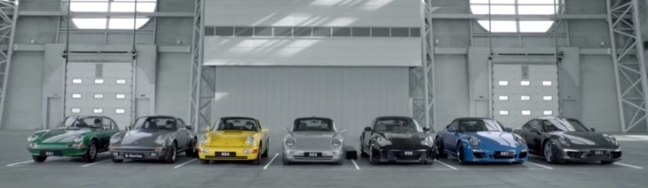 "Porsche 911: 7 Generations Sing ""Happy Birthday"" to Themselves [Video]"