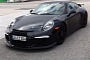 Porsche 911 991 GT3 Spied Almost Naked [Video] [Photo Gallery]
