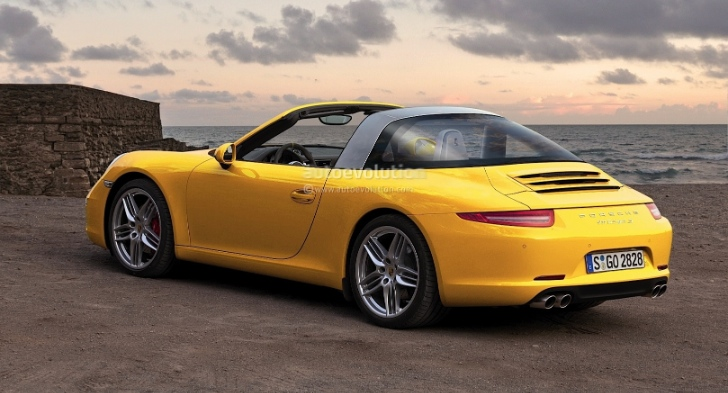 Porsche 911 991 Targa Rendered into Reality
