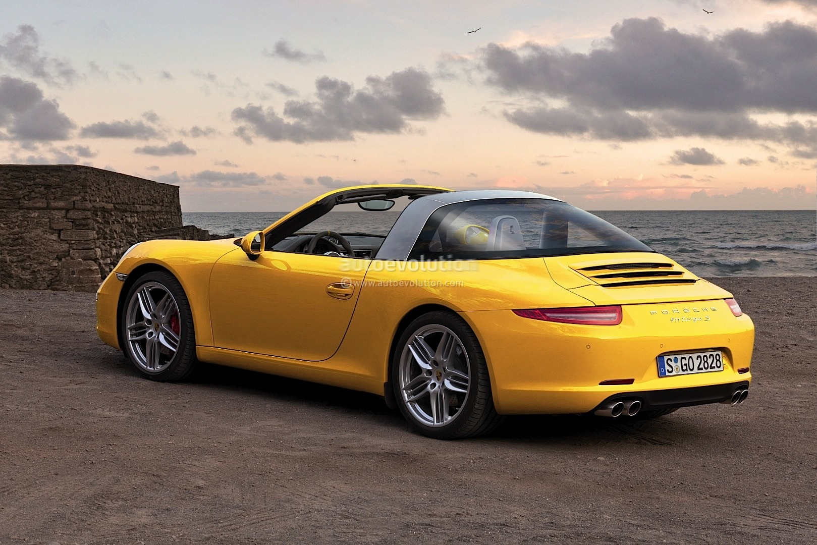 Porsche 911 991 targa rendered into reality autoevolution 5 photos sciox Image collections