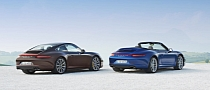 Porsche 911 Carrera 4, 4S Coupe and Cabrio UK Pricing Released