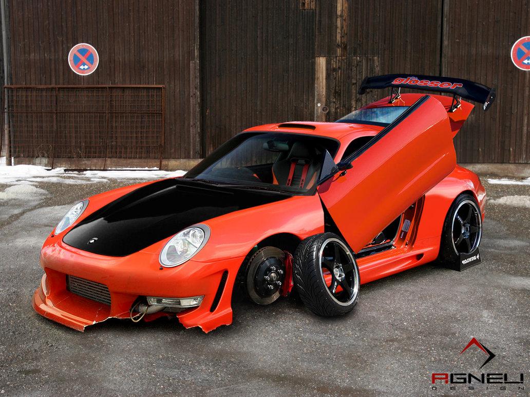 Porsche 911 Gets Wild Virtual Tuning Autoevolution