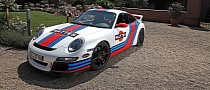 Porsche 911 GT3 (997) Gets Martini Livery via Cam Shaft [Photo Gallery]