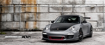 Porsche 911 GT3 RS 997 On ADV.1 Wheels [Photo Gallery]