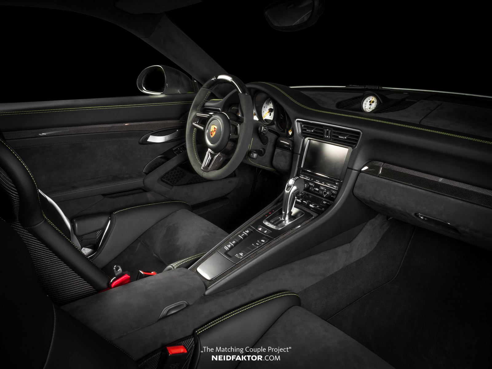 porsche 911 gt3 rs alcantara interior is the most luxurious ever